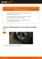 Hoe Schokbrekers veranderen en installeren VW POLO: pdf handleiding