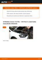 Jak wymienić oleju silnikowego i filtra w VW Polo 5 - poradnik naprawy