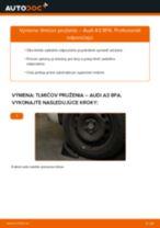 Vymeniť Tlmiče perovania AUDI A3: zadarmo pdf