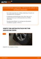 Τοποθέτησης Αμορτισέρ VW POLO Saloon - βήμα - βήμα εγχειρίδια
