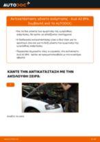 Αντικατάσταση Καπό KIA μόνοι σας - online εγχειρίδια pdf