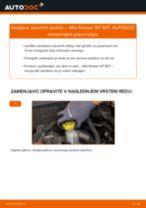 Kako zamenjati avtodel zavorne ploščice zadaj na avtu Alfa Romeo 147 937 – vodnik menjave