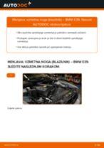Vgraditi Blažilnik BMW 5 (E39) - priročniki po korakih