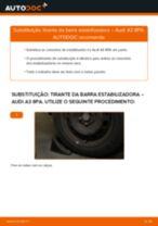 Tutorial de reparo e manutenção AUDI Q3