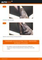 Substituição Escovas limpa para brisas AUDI A3: pdf gratuito