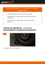 Как се сменя задна биалетка на Audi A3 8PA – Ръководство за смяна