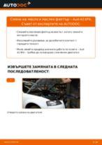 Как се сменя масло и маслен филтър на Audi A3 8PA – Ръководство за смяна