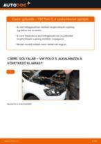 Elülső gólyaláb-csere VW Polo 5 gépkocsin – Útmutató