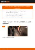 Hátsó gólyaláb-csere BMW E39 gépkocsin – Útmutató