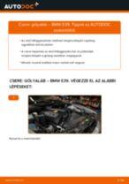 Elülső gólyaláb-csere BMW E39 gépkocsin – Útmutató