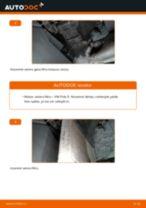 Salona filtrs nomaiņa VW POLO: tiešsaistes pamācības