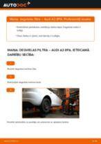 MANN-FILTER WK 853/3 x par A3 Sportback (8PA)   PDF nomaiņas instrukcijas