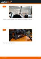 Kā nomainīt: priekšas logu slotiņas Audi A3 8PA - nomaiņas ceļvedis