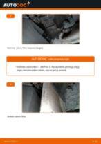 Kaip pakeisti VW Polo 5 salono filtro - keitimo instrukcija
