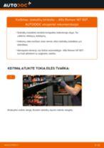 Sankabos remonto komplektas, visas keitimas: pdf instrukcijos ALFA ROMEO 147
