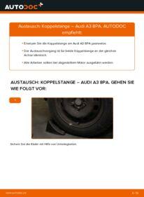 Wie der Wechsel durchführt wird: Koppelstange 2.0 TDI 16V Audi A3 8P tauschen