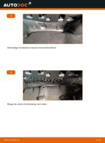 Wie der Wechsel durchführt wird: Innenraumfilter 2.0 TDI 16V Audi A3 8P tauschen