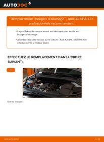 Comment effectuer un remplacement de Bougies d'Allumage sur 2.0 TDI 16V Audi A3 Sportback