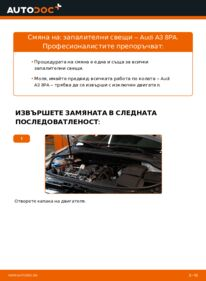 Как се извършва смяна на: Запалителна свещ на 2.0 TDI 16V Audi A3 8pa