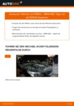Wie Motorölfilter auto ersatz beim BMW 5 (E60) wechseln - Handbuch online