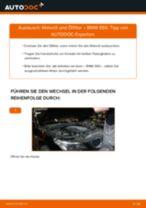 Ölfilter auswechseln BMW 5 SERIES: Werkstatthandbuch