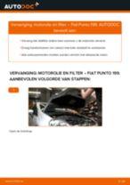 Aanbevelingen van de automonteur voor het vervangen van FIAT Fiat Punto 199 1.4 Interieurfilter