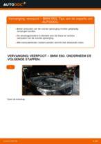 Hoe Schokbrekers veranderen en installeren BMW 5 SERIES: pdf handleiding