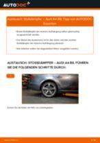 Stoßdämpfer hinten selber wechseln: Audi A4 B8 - Austauschanleitung