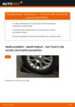 PDF manuel de remplacement: Amortisseur FIAT GRANDE PUNTO (199) arrière + avant