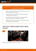 Remplacement Bride De Liquide De Refroidissement FIAT GRANDE PUNTO : pdf gratuit