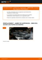 Comment changer : jambe de suspension avant sur BMW E60 - Guide de remplacement