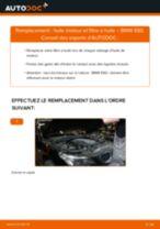 Comment changer Filtre à Huile BMW 5 (E60) - manuel en ligne