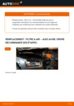 K&N Filters 33-3005 pour A4 Berline (8K2, B8) | PDF tutoriel de changement