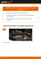 Udskift fjederben for - Skoda Octavia 1Z5   Brugeranvisning