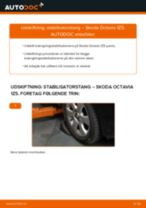Udskift stabilisatorstang for - Skoda Octavia 1Z5   Brugeranvisning