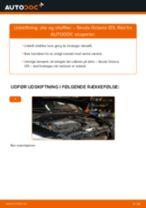 Udskift motorolie og filter - Skoda Octavia 1Z5   Brugeranvisning