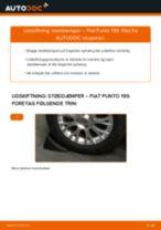 FIAT GRANDE PUNTO reparations- og vedligeholdelsesvejledning