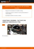 FIAT GRANDE PUNTO instruktionsbog dansk