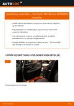 Udskift pollenfilter - Fiat Punto 199 | Brugeranvisning
