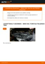 Automekaniker anbefalinger for udskiftning af BMW BMW E60 525d 2.5 Støddæmper