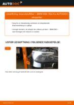 Udskift brændstoffilter - BMW E60   Brugeranvisning