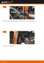 Instalación Cable de accionamiento freno de estacionamiento FIAT GRANDE PUNTO (199) - tutorial paso a paso