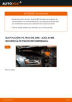 Cómo cambiar: filtros de aire - Audi A4 B8 | Guía de sustitución
