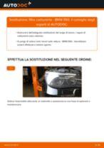 PDF manuale di sostituzione: Filtro combustibile BMW 5 Sedan (E60) diesel e benzina