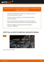 Come cambiare è regolare Filtro abitacolo BMW 5 SERIES: pdf tutorial