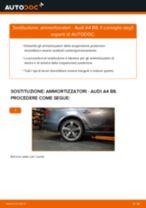 Come cambiare ammortizzatori della parte posteriore su Audi A4 B8 - Guida alla sostituzione