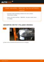 Byta bränslefilter på BMW E60 – utbytesguide