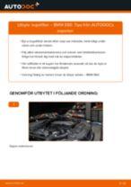 Byta kupéfilter på BMW E60 – utbytesguide