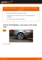 Byta stötdämpare bak på Audi A4 B8 – utbytesguide