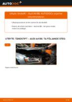 Byta tändstift på Audi A4 B8 – utbytesguide